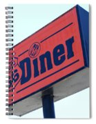 Route 66 Diner Sign Spiral Notebook