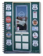Route 66 Doorway Spiral Notebook