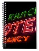 Route 66 El Rancho Spiral Notebook