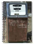 Route 66 Gas Pump Humor Spiral Notebook