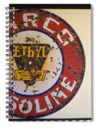 Route 66 Gasoline Sign Spiral Notebook