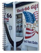 Route 66 Gift Shop Spiral Notebook