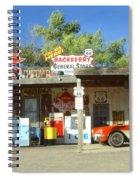 Route 66 Hackberry Arizona Spiral Notebook