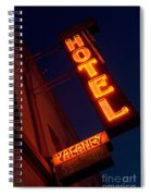 Route 66 Hotel Williams Spiral Notebook