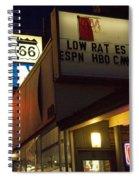 Route 66 Inn Spiral Notebook