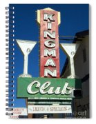 Route 66 Kingman Club Spiral Notebook