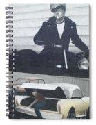 Route 66 Marlon Brando Mural Spiral Notebook