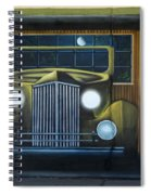Route 66 Motel Mural Spiral Notebook