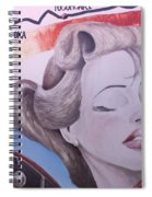 Route 66 Mural 10 Spiral Notebook