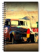 Route 66 Parking Lot Spiral Notebook