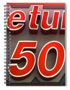 Route 66 Return To The 50s Spiral Notebook