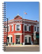 Route 66 - Sayre Oklahoma Spiral Notebook