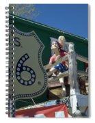 Route 66 Seligman Arizona Spiral Notebook