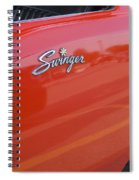 Route 66 Swinger Spiral Notebook