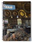 Route 66 Vintage Garage Spiral Notebook
