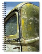 Route 66 Vintage Truck Spiral Notebook