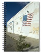 Route 66 Wall Spiral Notebook