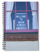 Route 66 Welcome Sign Spiral Notebook
