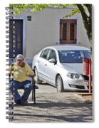 Rovinj Man Spiral Notebook