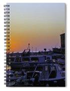 Rovinj Sunset Spiral Notebook