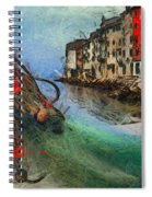Rovinj The Ancient Adriatic City Spiral Notebook
