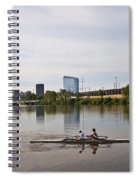 Rowing The Schuylkill Spiral Notebook