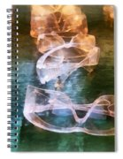 Rows Of Safety Goggles Spiral Notebook