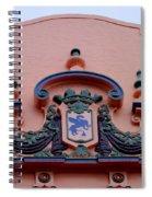 Royal Hawaiian Hotel Entry Facade Spiral Notebook