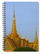 Royal Palace Roof. Spiral Notebook