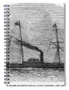 Royal Yacht, 1843 Spiral Notebook