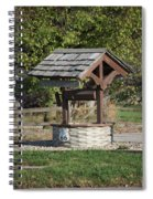Rt 66 Wishing Well Spiral Notebook