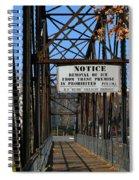 Rube Nelson Bridge 2 Spiral Notebook