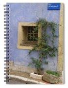 Rue De La Liberte Spiral Notebook