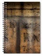 Rue Des Rats Spiral Notebook