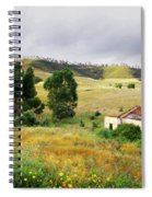 Ruin In Countryside Spiral Notebook