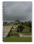 Ruins At Altun Ha Belize Spiral Notebook
