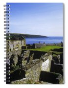 Ruins Of A Fort, Charles Fort, County Spiral Notebook