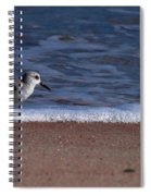 Run By The Sea Spiral Notebook