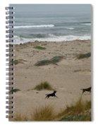Run My Dogs Spiral Notebook