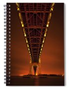 Run Through The Night Spiral Notebook