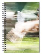 Running Deer Spiral Notebook