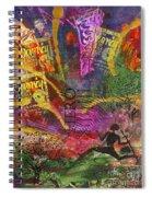Running Man Spiral Notebook