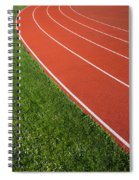 Running Track Spiral Notebook