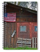 Rural Americana Spiral Notebook