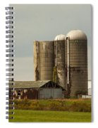 Rural Country Farm Spiral Notebook