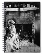 Rural Couple Eating, C1899 Spiral Notebook