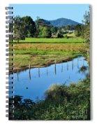 Rural Landscape After Rain Spiral Notebook