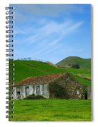 Rural Landscape Spiral Notebook