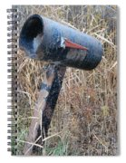 Rural Mailbox Spiral Notebook