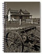 Rural Ontario Sepia Spiral Notebook